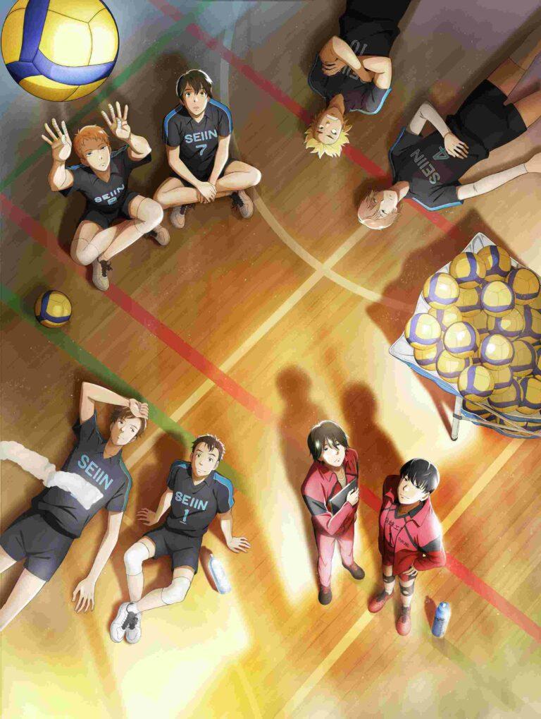 Read more about the article 2.43: Волейбольный клуб старшей школы Сэйин / 2.43: Seiin Koukou Danshi Volley-bu